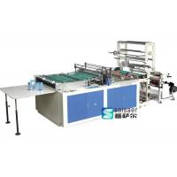 Quality Hot Cutting Side Sealing And Cutting Bag Making Machine 5.5Kw Step Motor Driving for sale
