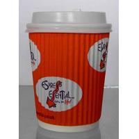 Quality Food Grade Single Wall Paper Cups With Double Side PE Coated Color Optional for sale