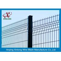 Buy cheap Pvc Coated Welded Wire Fence Panels Galvanized Mesh Fencing Powder Coated Fence from wholesalers