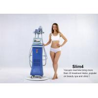 China 5 in 1 system Vertical Vacuum Cavitation Body Sculpting Slimming Machine with 4 handles on sale