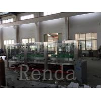 Quality Automated Glass Bottle Wine Filling Machine High Capacity CE Certification for sale