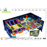 Space Theme Kids Two Layer Indoor Soft Playground Fun Place 300 * 21 * 8.0M for sale