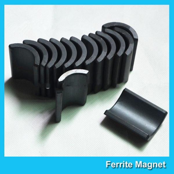 Buy Y30 Grade Ferite Arc Magnets For Motors Ferite Ceramic Motor Arc Magnets at wholesale prices