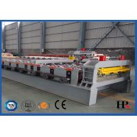 Buy Steel Structural Metal Sheet Floor Deck Panels Roll Forming Machine at wholesale prices