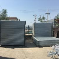 Quality Hot Dipped Galvanized Temporary Dog Fence Welded Wire Dog Kennels 2000mm Height for sale