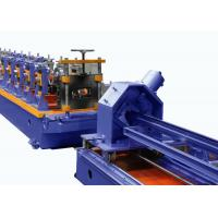 Quality Cr12 Roller Storage Rack Roll Forming Machine For Supermarket Warehouse Shelves for sale