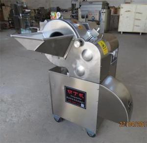 Quality Vegetable cube cutting machine,potato dicing machine, carrot cube cutting machine for sale