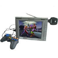 Buy cheap Multi-function Portable DVD Player with TV/FM/FM Transmitter/GAME/ MPEG4/USB from wholesalers
