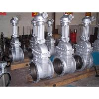 Quality Powerful 48 Inch Gate Valve / Flange End Stainless Steel Gate Valve for sale
