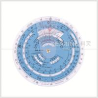 Quality Plastic Aviation Circular Flight Computer Navigation Calculator Wheel Chart for sale