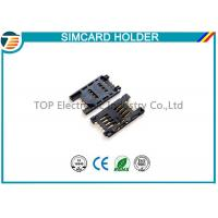 Quality Simple Board Guide Micro SIM Card Holder Surface Mount Right Angle for sale