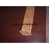 """Quality 2 """" Width Knitted Copper Wire Mesh Double / Multi - Filament Durable And Long Service Life for sale"""