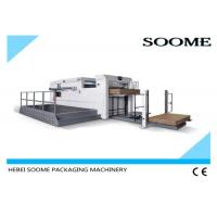 Quality Creasing Semi Automatic Die Cutting Machine With Front Conveyor Delivery Mechanism for sale