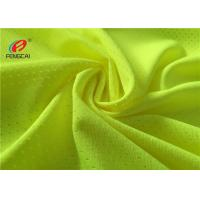 China 100 Polyester Mesh Lining Sports Mesh Fabric Football Jersey Fabric For Sportswear on sale