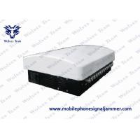 China 14 Bands Wifi Signal Jammer Built In Aerial Adjustable AC110 - 250V Power Supply on sale