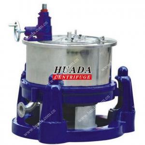 SG Manual Scraper Bottom Discharge Basket Centrifuge