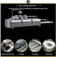 Quality Groundnut Brittle Cutting Machine/Cereal Bar Snack Food Making Machine for sale