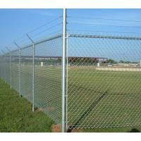 Quality 50*50MM High Anticorrosive Chain Link Fence Construction Durable for sale