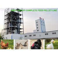 Buy cheap AMEC Complete Factory Price Automatic 3-5t/h Poultry Feed Pellet Line from wholesalers