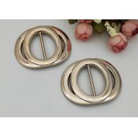 Quality Circular Shoes Belt Bags Sewing Craft Accessory Plastic Shoe Buckles,Not fade / keep color long time for sale