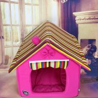 China China High Quality Dog Bed House Cotton Luxury Pet Cat House on sale