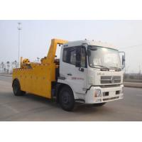 Quality Durable 155KW 80KN Wrecker Tow Truck , 6tons - 60tons Breakdown Recovery Truck for sale