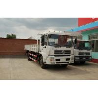 Quality White Cargo Van Truck 4x2 185 HP DFL11408 For Transferring Goods / Fruits for sale