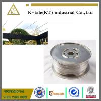 Quality Cable Railing for Pergola /stainless steel wire rope for pergolas and plant training for sale