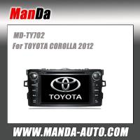 Quality double din car dvd gps for TOYOTA COROLLA (2012) in-dash navigation gps for sale
