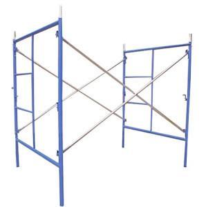 Quality Q195 / Q235, Pre-galvanized, Pump Jack Mobile H Frame Scaffolding for sale