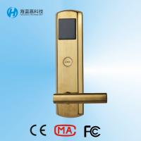 China 285*74mm  304 all stainless steel high security hotel swipe card lock systems on sale