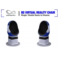 Quality Shopping Mall Electric System Amusement 9D VR Egg Cinema for sale