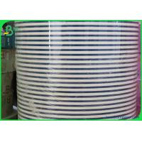 Quality 60 and 120 gsm drinking straw paper rolls in white black and 1 - Color printing for sale