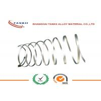 Quality Sliver White Pure Nickel 201 Ribbon UNS NO2200 Flat FeCrAl Alloy Wire / Ribbon / strip / Coil for sale