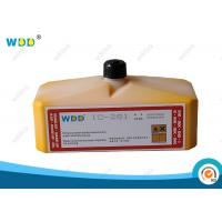 Buy cheap Domino CIJ Ink Yellow Pigment 0.825L Non Halogen SGS Certification from Wholesalers