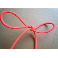 China Red Wax Cotton Cord , Waxed Linen Cord Spandex Clothing Accessories on sale