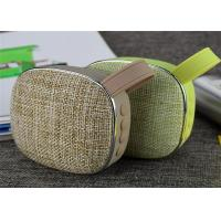China X25 Mini Bluetooth Speaker Wireless Portable Fabric Speaker MP3 Player with Microphone TF Card Slot AUX on sale