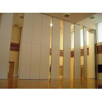Quality Function Hall Decorative Acoustic Room Dividers / Sliding Operable Wall Panel for sale