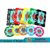 Quality Entertainment ABS Plastic RFID Casino Chips With Custom Logo Dedicated Box for sale