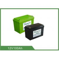 Quality 12V 100Ah Bluetooth Lithium Battery for Golf Cart , Support 4pcs In Series For 48V100Ah for sale