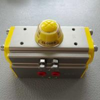 Quality Pneumatic Rack And Pinion Actuator Pneumatic Piston Rotary control valve for sale