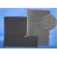 Quality High Air Flow  Activated Carbon Mesh ,  Low Resistance Home Charcoal Filter for sale