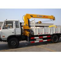 Quality Durable Hydraulic System Telescopic Boom Mobile Crane With 6300kg for sale