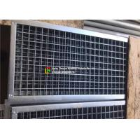 Quality Plain Welded Steel Bar Grating Closed End 6m Length For Municipal Subgrade for sale