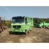 China 2015 made in china tractor head 8*4 12 Tires Sinotruck Howo tipper  dump truck on sale
