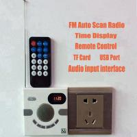 100% Portable Wall Speaker Switch Design Multi-functional Stereo With FM TF Card U Disk Multi-functional quran Speaker