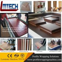 Quality carved wooden wall panels vacuum membrane press machine UK market for sale