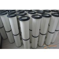 Quality Nanofibre Membrane Spun Bonded Polyester Industrial Dust Filter Cartridge For Metal Dust for sale