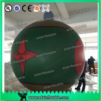 Quality Club Event Hanging 1.5m Lighting Decoration Inflatable Ball With Star Printing for sale