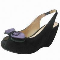 Quality 2012 Fashionable and Trendy Women's Wedge Shoes with Genuine Leather Lining for sale